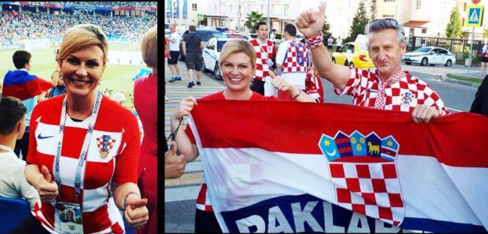 Detalii despre președinta Croației, revelația Campionatului Mondial de Fotbal din Rusia