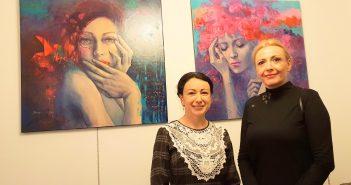 Exposition inédite d'une artiste peintre roumaine à Saint-Étienne